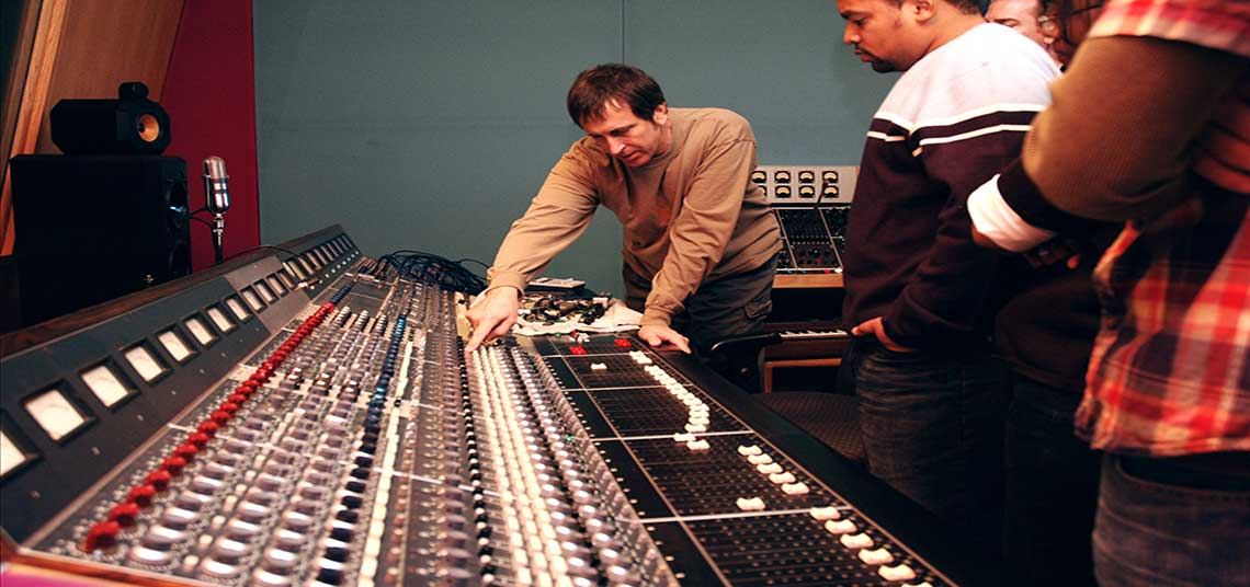 Audio Recording School Mixing Console